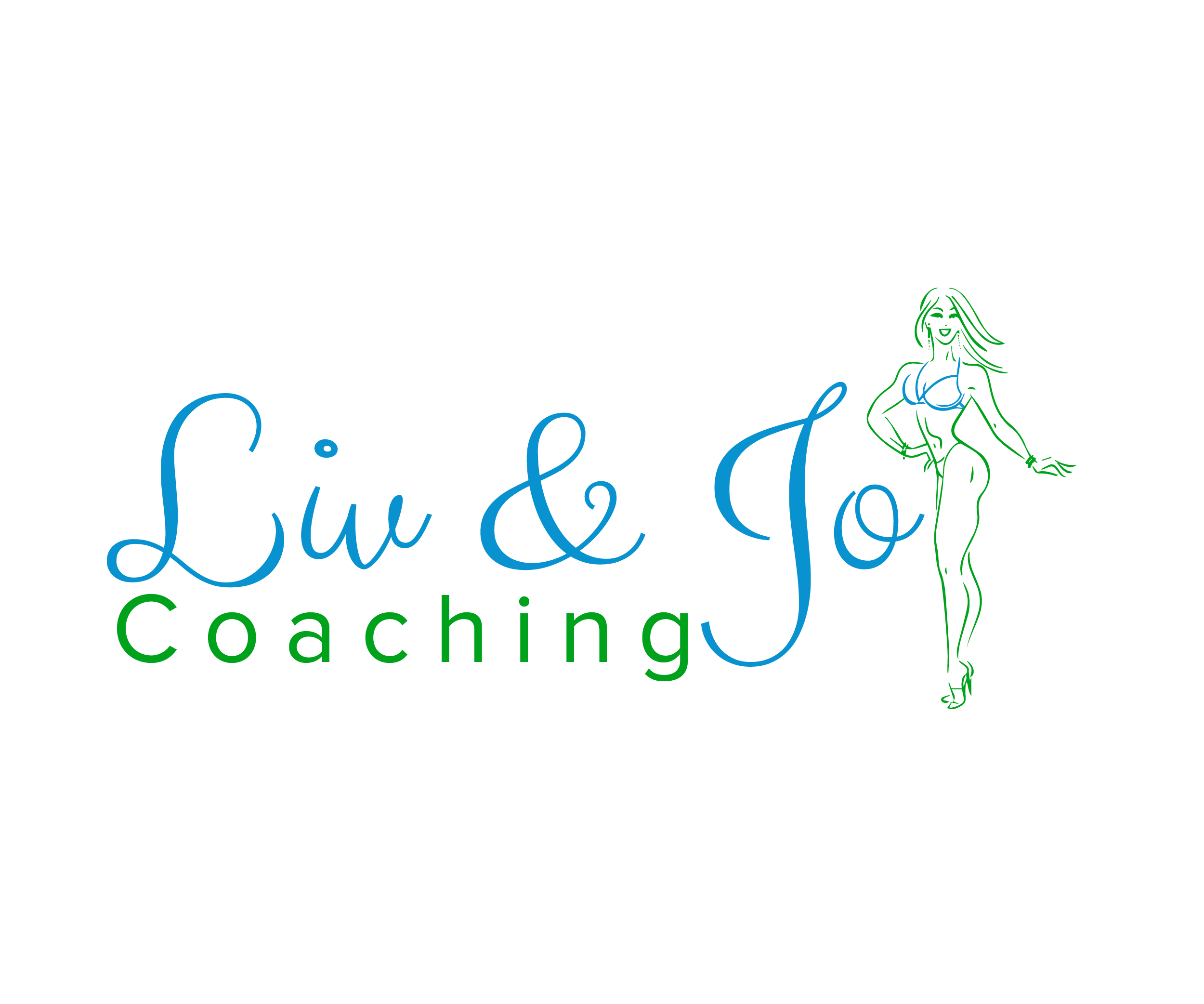 Logo design for Liv and Jo Coaching by by The Marketing Boutique Sussex