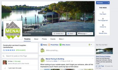 Facebook Page design by The Marketing Boutique